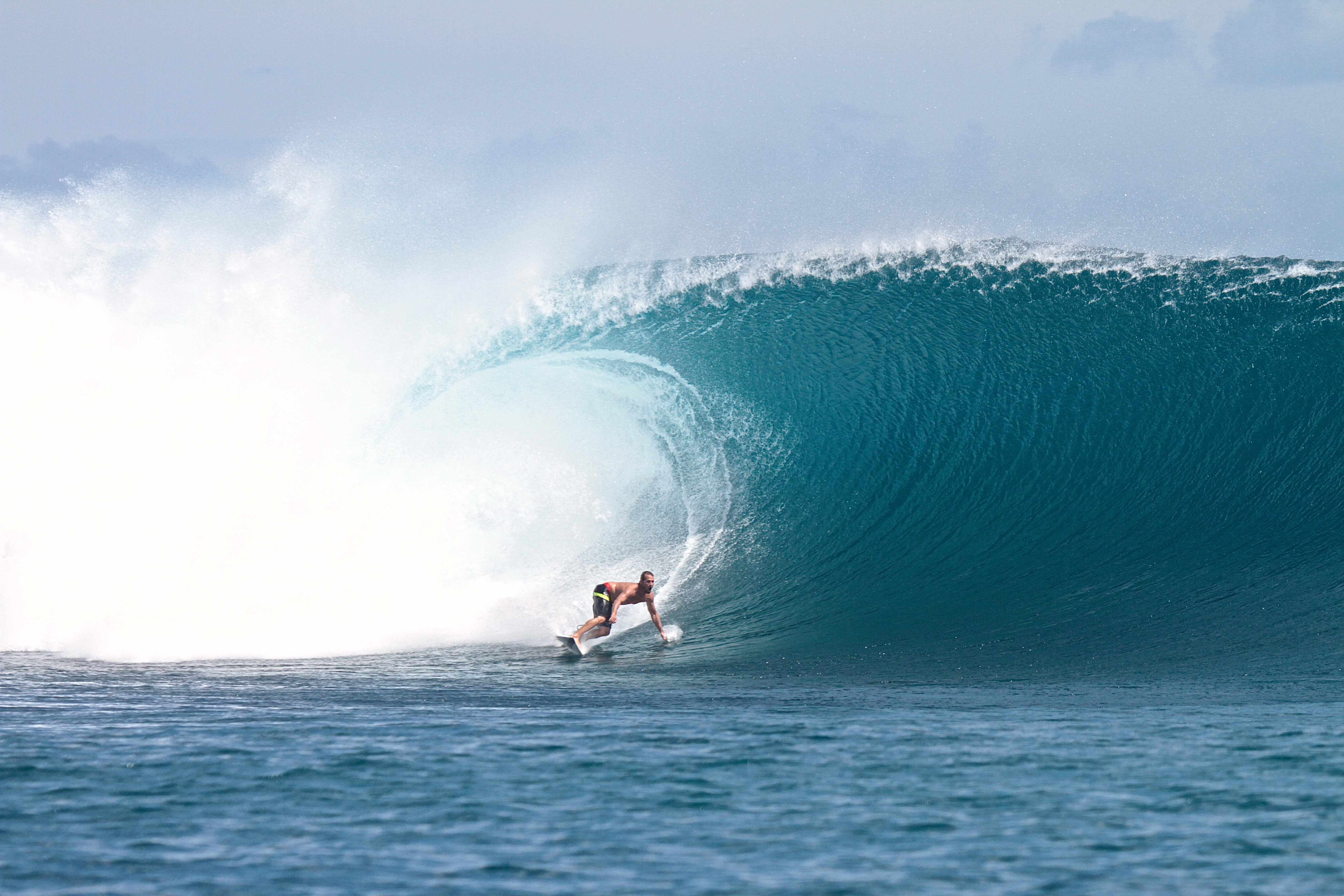 Surfing with The Best Waves in G-Land