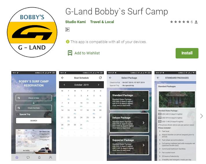 G-Land Mobile APP